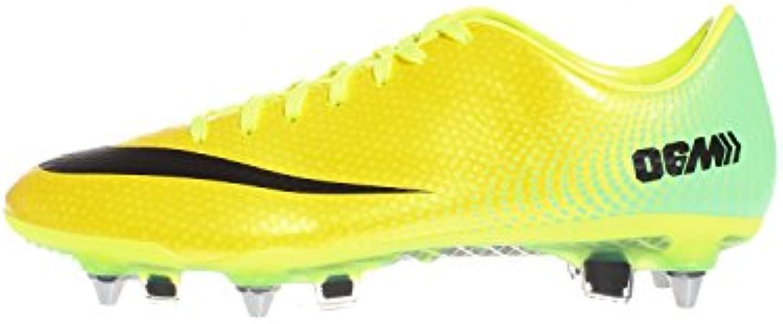 Nike MERCURIAL VAPOR IX SG PRO VARSITY MAIZE/BLACK   10.5