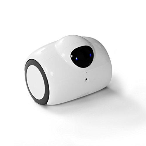 Babyphone Kamera HD Kamera Roboter mit Sicherheits Kamera, HD-Video, IR-Nachtsicht, Familienroboter Ferngesteuert weltweit über Internet