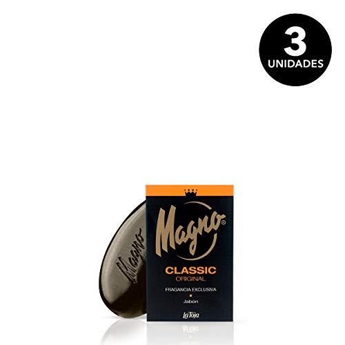 Magno - Jabón manos fragancia única mundo - 3 packs