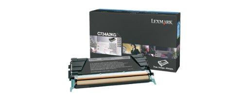 Preisvergleich Produktbild Lexmark C734A2KG C734 / X734 Tonerkartusche 8.000 Seiten, schwarz