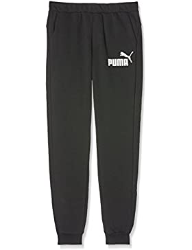 Puma Pantalones Deportivos ESS N.º1 Sweat TR Cl para niños, Infantil, ESS No.1 Sweat Pants TR Cl, Cotton Black...
