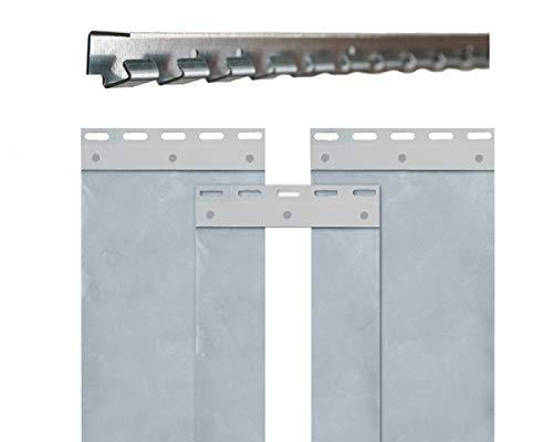 B 2,25 x H 2,50m PVC Streifenvorhang 300 x 3mm