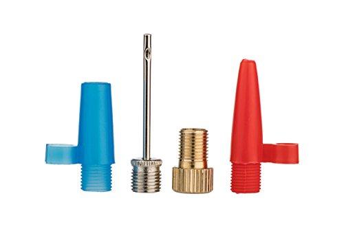 Xunits Luftpumpe Adapter Set DV & SV auf AV, Ballpumpennadel & Aufsätze zum Aufblasen für Luftmatratzen, Bälle oder Campingmatten (Isomatten)
