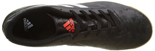 adidas Conquisto II In, Chaussures de Football Homme Multicolore (Core Black/ftwr White/solar Red)