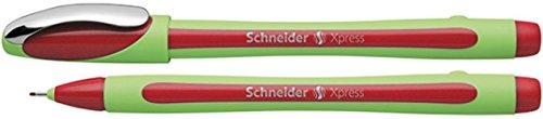 Schneider Xpress Fineliner Faserstift 1 Stück rot