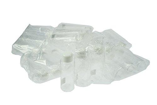 Fantasia Bouteille cosmétique en plastique, couvercle blanc, contenance 100 ml, lot de 24 pièces