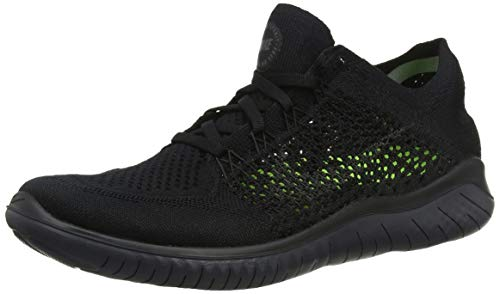 Nike Herren Free Rn Flyknit 2018 Sneakers, Schwarz (Black/Anthracite 001), 40 EU