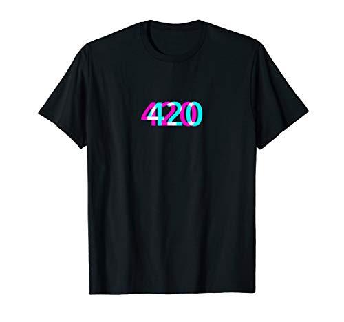 420 T-Shirt | Kiffer Chiller Stoner Gras Cannabis Marijuana