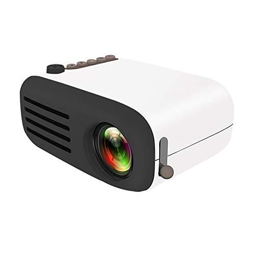 Projektor 1080P, LED beweglicher Projektor-Taschen Pico Projektor großes Geschenk für Kinder, AV USB SD HDMI Video Movie Game Heimkino-Videoprojektor