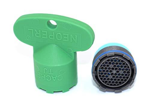 Neoperl Strahlregler (Luftsprudler, Perlator), M18.5x1 - Durchflussklasse A: 13.5-15 l / min, Kunststoff - 10993998