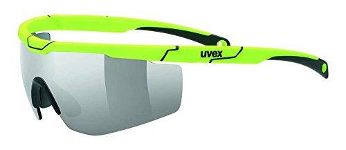 Uvex Erwachsene Sportstyle 117 Sportbrille, yellow, One Size