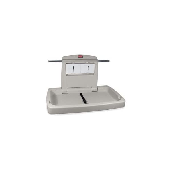 Bunzl Distribution Midcentral 17701888 Rubbermaid 7818 Baby Changing Station, Horizontal Bunzl Distribution Midcentral  1