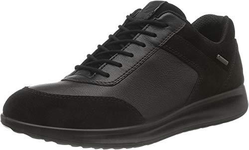 Ecco Aquet, Zapatillas para Mujer, Negro Black/Black 51052, 42 EU