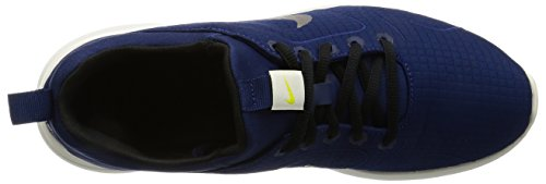 Nike Herren Kaishi 2.0 Prem Sneakers Blau (Binary Blue/Black/Light Bone/Electro Lime)