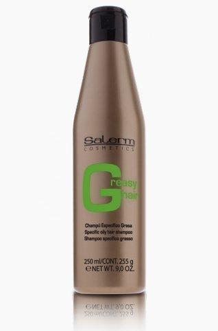 SALERM shampooing pour cheveux gras 250 ml