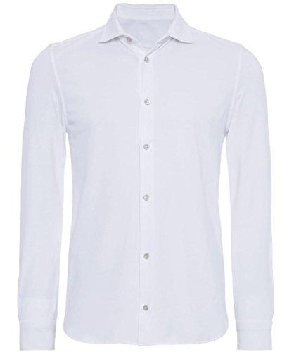 Circolo 1901 Camicia in cotone Jersey XL Bianco
