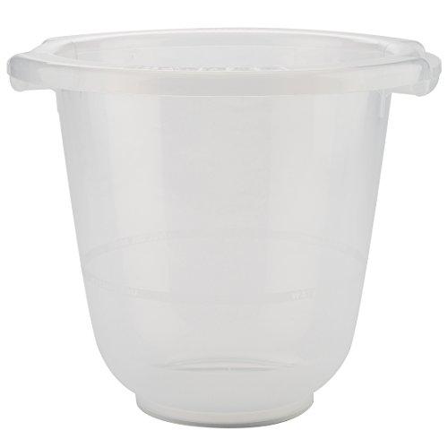 Bañera de cubo para bebés tummy tub®: la original, con certificación TÜV, sin BPA, transparente