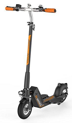 Alu-elektro-platte (Run & Roll Scoot Z5Elektro-Scooter, Schwarz/Orange, 8