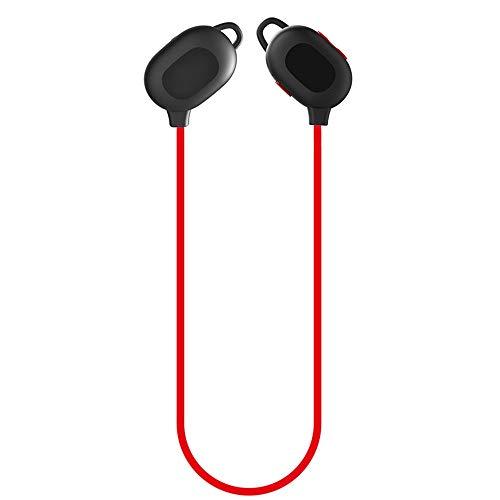 Persönlichkeit Faltbare und leichte In-Ear-Kopfhörer 8 Stunden Arbeitszeit Drahtlose Bluetooth-Kopfhörer Noise Cancelling Sweatproof Ohrhörer mit Mikrofon Wasserdichtes Running Headset mit eingebautem (Free Running Pc)