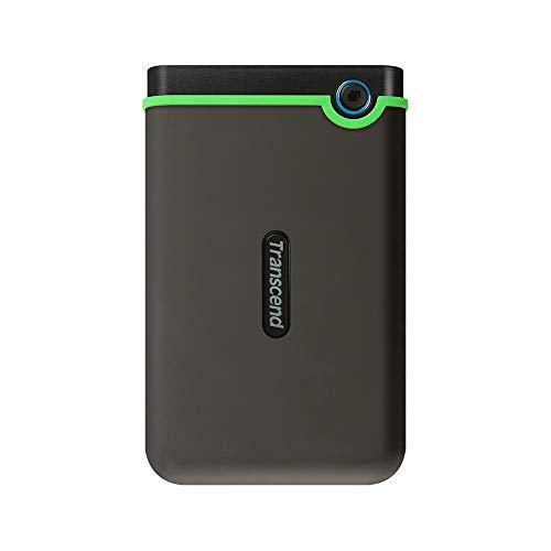 Transcend 2TB USB 3.1 Gen 1 25M3S StoreJet SJ25M3S Rugged externe Festplatte (Usb-auto-backup)