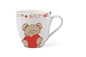 Woodyland 104594064 Lumpin Bear - Taza, Color Blanco