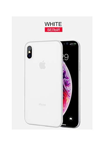 auguce 0.3MM Ultra dünne Matte PP Fall Auf für iPhone X XS Max XR Harter PC-Telefon-Abdeckung für iPhone XS Max X XR Stoß- Schutzhüllen, Weiß, für iPhone XS Max (Samsung T-mobile Cell Phones)