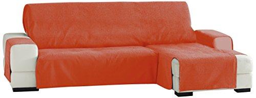 Eysa italia zoco chaise longue 240 cm. destra vista frontale - col. 19-arancione