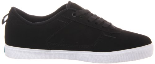 Fallen ROOKIE 41070052, Chaussures de skateboard mixte adulte Noir - Black - Black/White