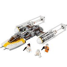 Lego Gold Leaders Y-Wing Starfigihter 9495