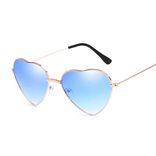 FGRYGF-eyewear2 Sport-Sonnenbrillen, Vintage Sonnenbrillen, Retro Cat Eye Heart Sunglasses Women Metal Frame Mirror Uv400 Sun Glasses Vintage