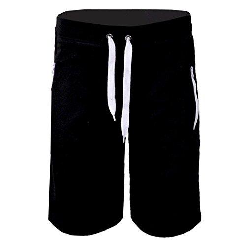 Ecru Fliese (Malloom® Mode Mann Herren beiläufige Taschen Strand Arbeits zufällige Kurze Hosen-Kurzschluss Hosen für Sport Uhrlaub Freizeit)