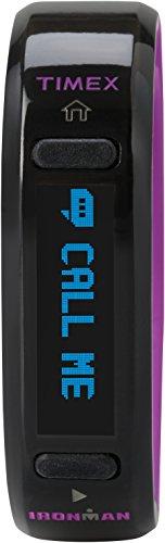 Timex Unisex TW5K85800 Ironman Move X20 Activity Tracker Small Black/Violet Watch