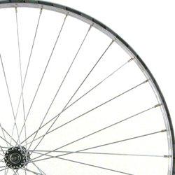 Wilkinson Alloy Standard - Llanta para bicicletas, color plateado, talla 700 C
