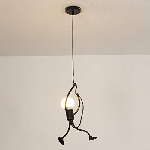 ,eisen-beleuchtungskörper Für Restaurant-café-kleidung Zu Speichern-single-weißes Licht ()