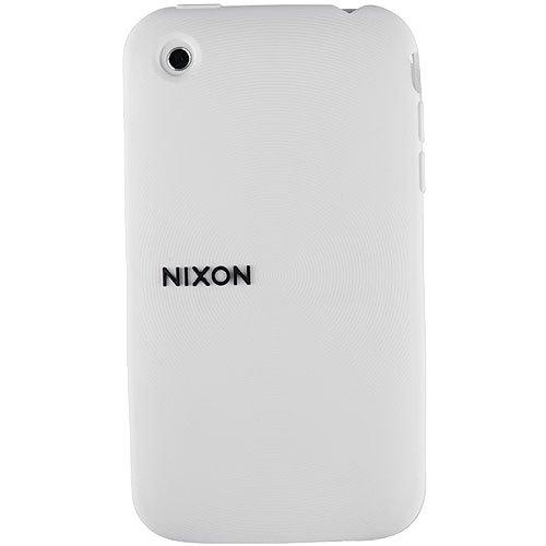 Nixon Wrap Wordmark iPhone 3G Phone Case white