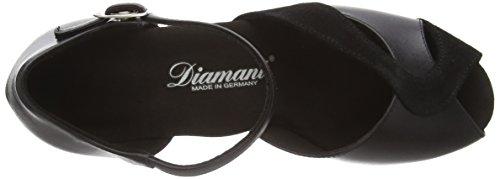 Diamant - Diamant Damen Tanzschuhe 011-011-070, Scarpe Da Ballo - Standard & Latino da donna Nero (Nero (nero))