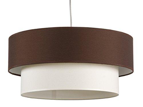 maison-lampe-de-plafond-lune-42287-double-ecran-texture-couleur-marron