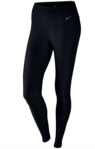 Nike Damen Power Poly Leggings, schwarz (Black/Cool Grey), L (Coole Nike Leggings Für Frauen)