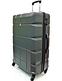 f9d49037ee6e ATX Luggage Super Lightweight Durable ABS Hard Shell Hold Luggage Suitcases  Travel Bags Trolley Case Hold Check in with 4 Wheels Built…