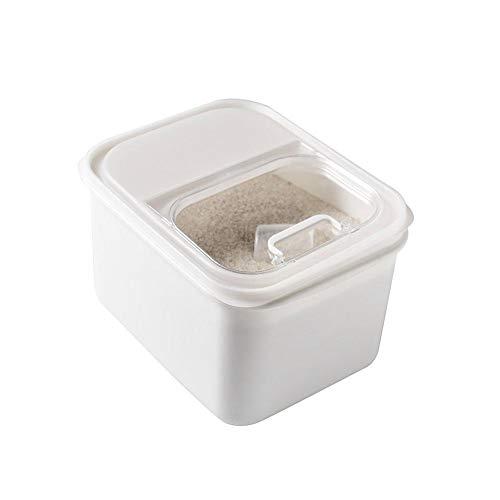 Airtight Food Storage Container Airtight Kitchen Geschirr und Pantry Bulk Food Storage einschließlich Müsli, Mehl, Zucker, Nudeln, Reis, Kaffee, Nüssen, Snacks und mehr Weiß (Lebensmittel-lagerung-container Bulk)