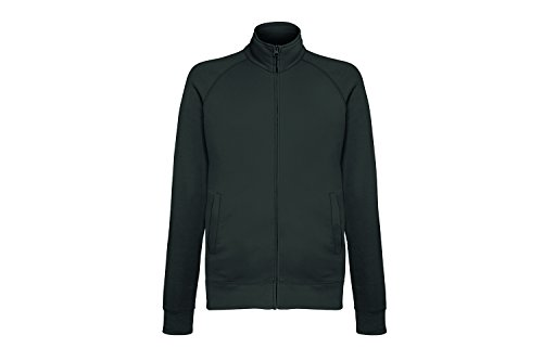 Fruit of the Loom Herren Sweatshirt Lightweight Sweat Jacket Grau (Light Graphite Gl)