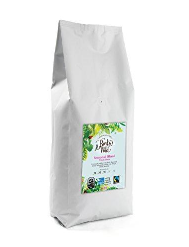Mezcla de temporada de tostado medio de Bird & Wild, ONG Sociedad Real para la Protección de Animales (RSPB) café de comercio justo orgánico cultivado a la sombra y amigable con las aves, café de gran