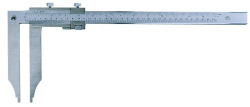 Metrica 12122 CALIBRE BOCA LARGA 600MM 0.02 0,02 mm/inch