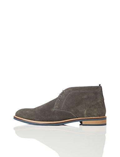 find. Herren Chukka Boots, Grau (Dk Grey), 44 EU -