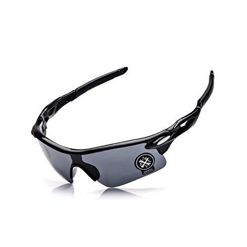 Beydodo Schutzbrille Infrarotlampe Sportbrille Herren Sicherheitsbrille Damen Schwarz Grau Schießbrille für Brillenträger