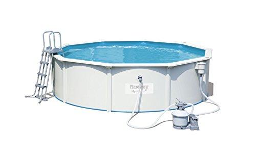 Bestway Hydrium Pool Set rund, weiß, 460 x 120 cm