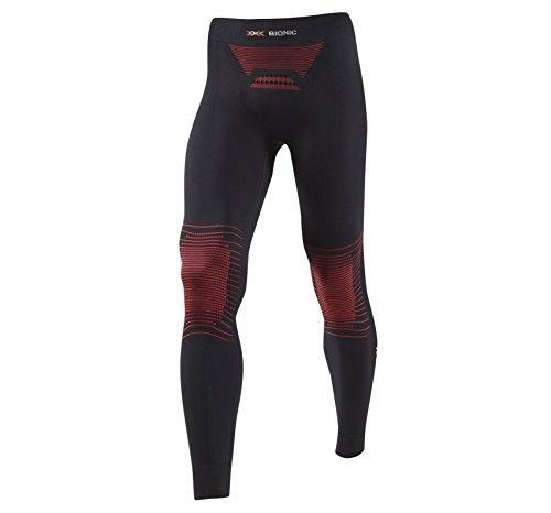 X-Bionic Erwachsene Funktionsbekleidung Man Energizer MK2 UW Pants Long, Black/Red, S/M