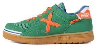 Munich G3 Profit, Scarpe da Calcetto Unisex – Adulto Multicolore (Verde / Naranja)
