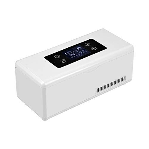Kievy Medizin-Kühlschrank und Insulin-Kühler mit Temperaturregelung Tragbare Medikamenten-Kühlbox Für Auto Reise-Insulin-Kühlbox (23.5X10.5X11Cm (9.25X4.13X4.33Inch)