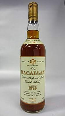 Macallan - Single Highland Malt - 1973 18 year old Whisky